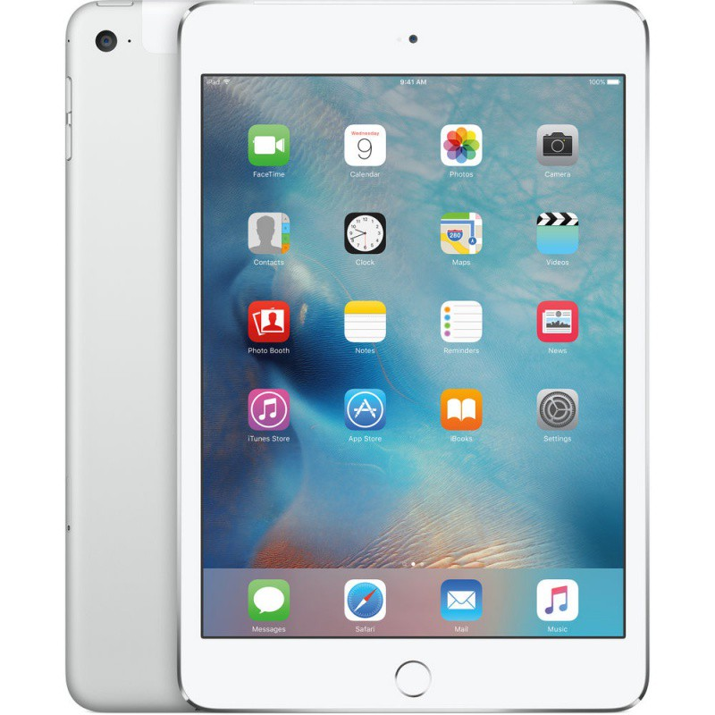 Купить -  Apple iPad mini 4 Wi-Fi 128GB Silver (MK9P2RK/A)