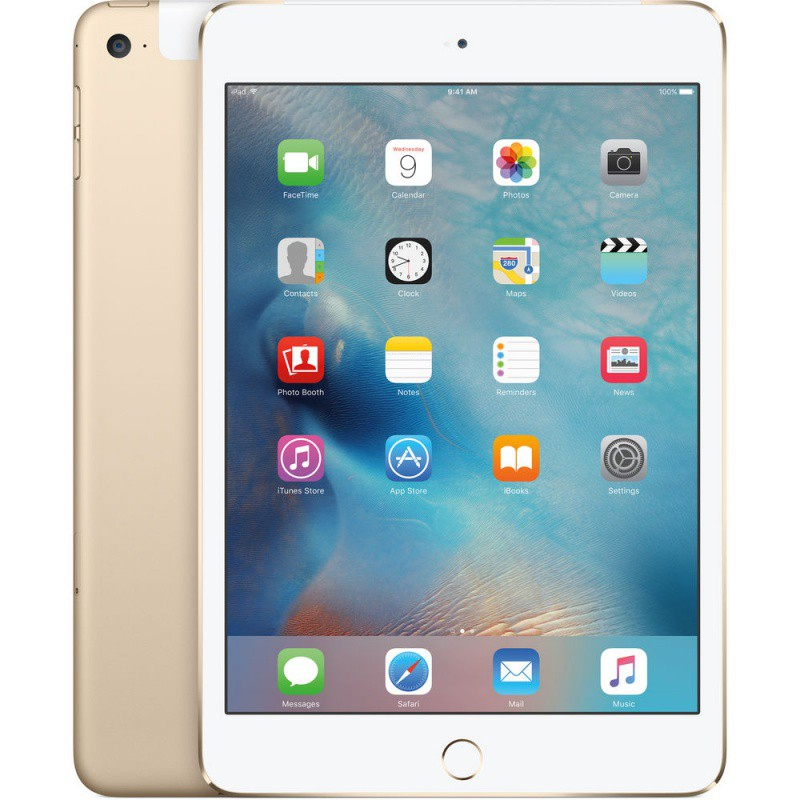 Купить -  Apple iPad mini 4 Wi-Fi 4G 128GB Gold (MK782RK/A)