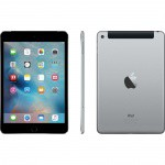 Фото  Apple iPad mini 4 Wi-Fi 4G 128GB Space Gray (MK762RK/A)
