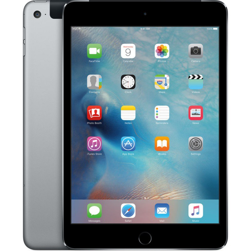 Купить -  Apple iPad mini 4 Wi-Fi 4G 16GB Space Gray (MK6Y2RK/A)