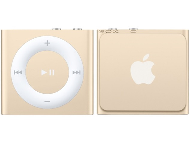 Купить -  Apple iPod Shuffle 5Gen 2GB Gold (MKM92RP/A)