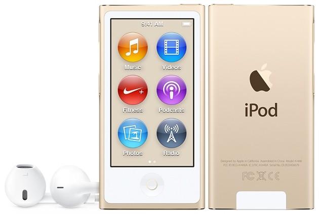Купить -  Apple iPod nano 16Gb Gold (MKMX2QB/A)