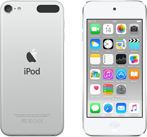 Купить -  Apple A1574 iPod Touch 32GB White & Silver (MKHX2RP/A)