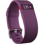 Фото -  Fitbit Charge HR Plum Large (FB405PML-EU)