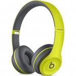 Фото -  Наушники Beats Solo2 Wireless Headphones Active Collection - Shock Yellow (MKQ12ZM/A)