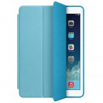 Фото -  Чехол кожаный Apple Smart Case для iPad Air (Blue) (MF050ZM/A)