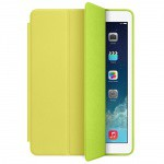 Фото -  Чехол кожаный Apple Smart Case для iPad Air (Yellow) (MF049ZM/A)