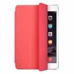 Фото -  Чехол полиуретановый Apple Smart Cover для iPad mini (pink) (MF061ZM/A)