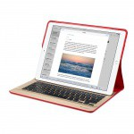 Фото -  Logitech CREATE Backlit Keyboard Case for iPad Pro (Red) (HJDX2VC/A)