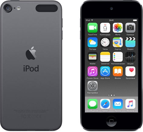 Купить -  Apple iPod touch 5Gen 32Gb Space Gray (ME978)