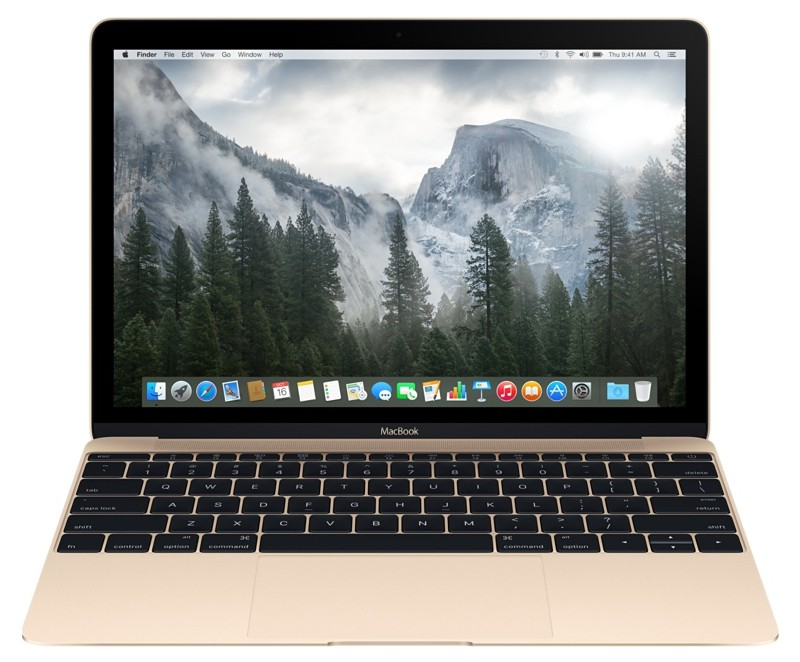 Купить - Apple Apple A1534 MacBook 12' Retina Core m3 1.1GHz Gold (MLHE2UA/A)