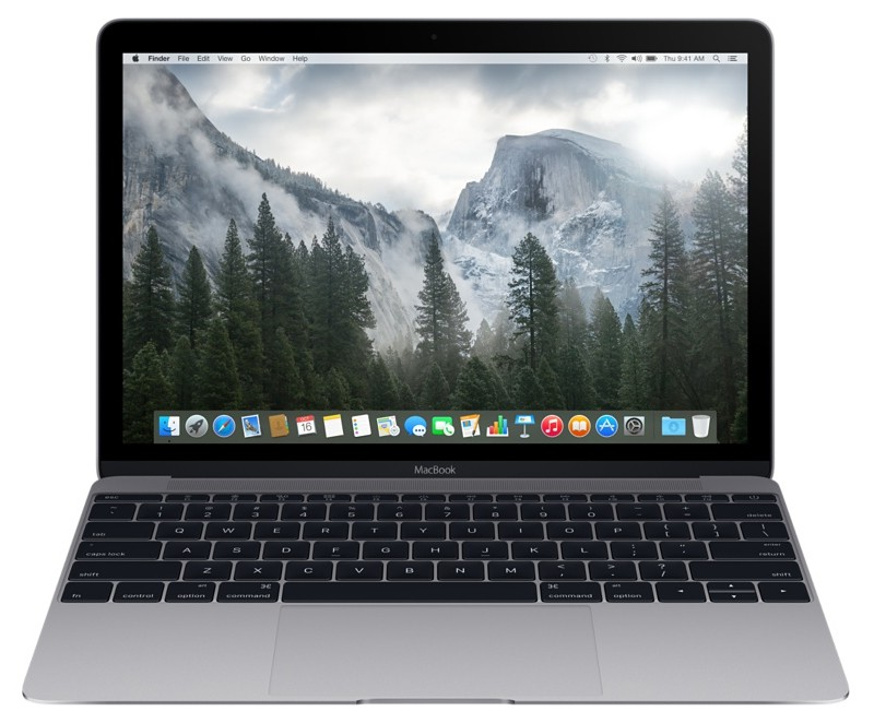 Купить - Apple Apple A1534 MacBook 12' Retina Core m5 1.2GHz Space Gray (MLH82UA/A)