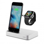 Фото - Belkin Док-станция Belkin Valet Charge Dock for Apple Watch + iPhone (F8J183vfSLV)