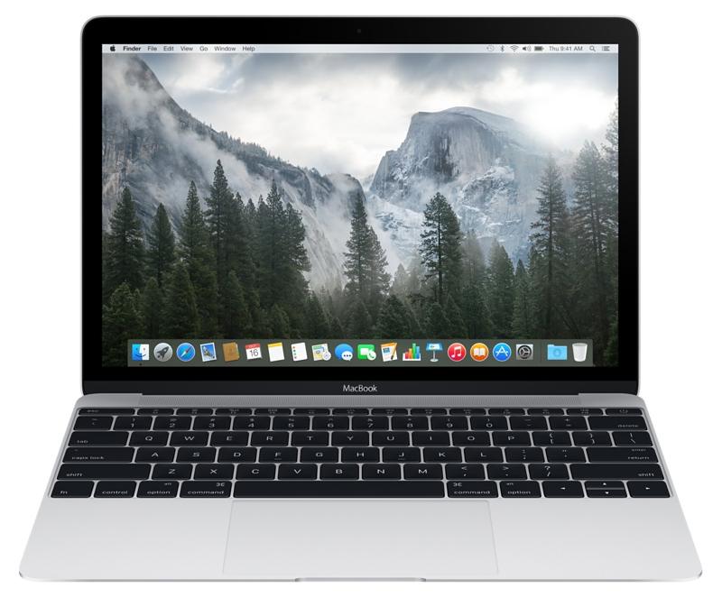 Купить - Apple Apple A1534 MacBook 12' Retina Core m7 1.3GHz Silver (Z0SP0003X)