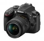 Фото -  Nikon D3400 kit AF-P 18-55 VR Black (UA) VBA490K001