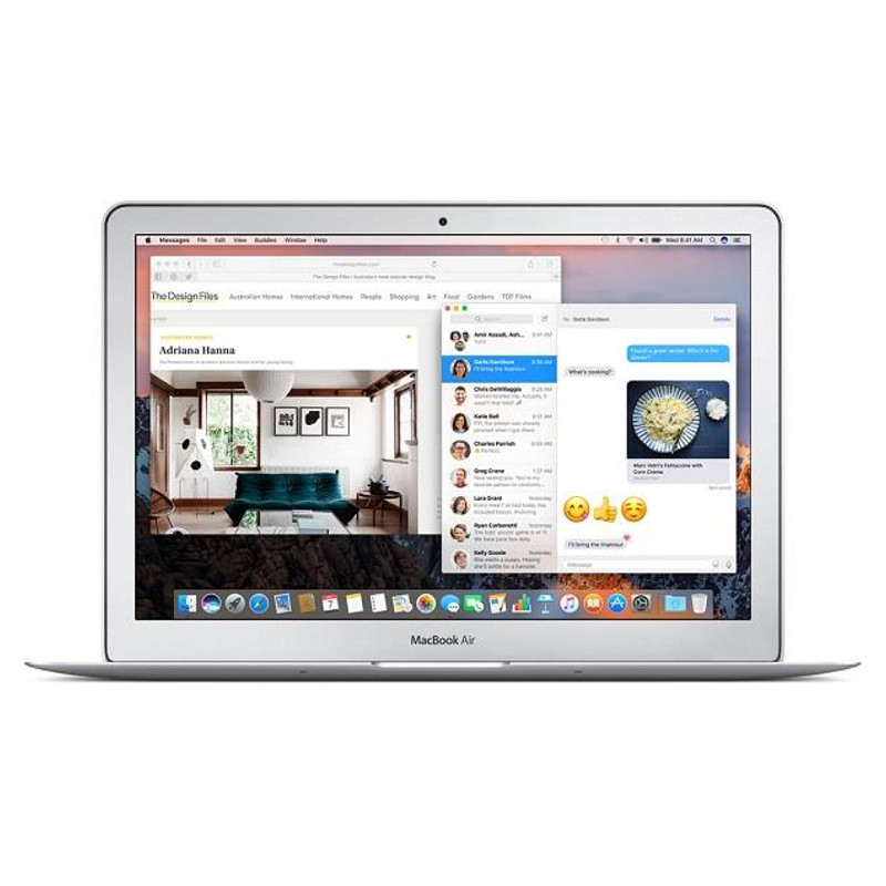Купить - Apple Apple A1466 MacBook Air 13W' Dual-core i5 1.8GHz (MQD42UA/A)
