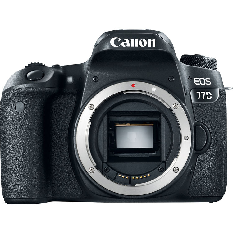 Купить - Canon Canon EOS 77D DSLR Camera (Body) (1892C020AA)