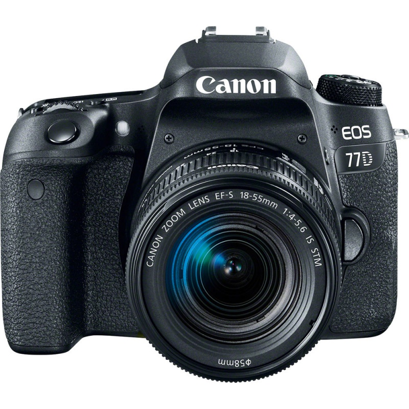Купить - Canon Canon EOS 77D DSLR + 18-55mm (1892C022AA)