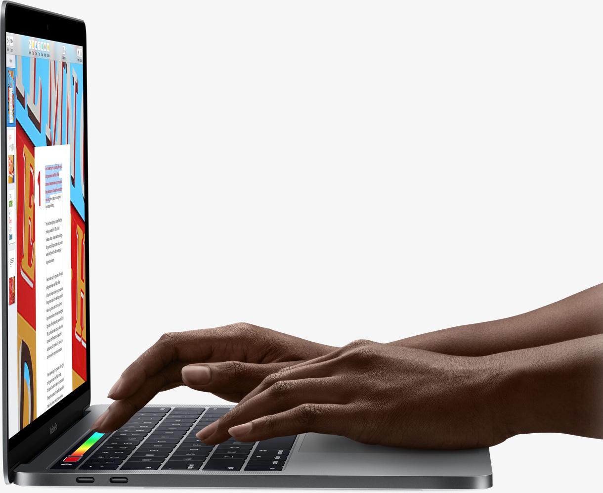 Macbook Pro 15 Apple Touch Bar Retina Mlw82 Notebook 15inch Touchbar Core I7 16gb 512gb Silver Thunderbolt 3
